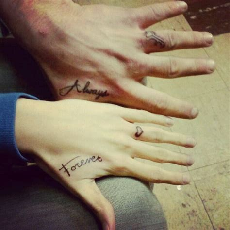 tattoo hand couple index of images 103