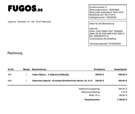 Rechnung Privatperson An Firma Advancedinvoicelayout Beispiele F 252 R Magento Pdf Rechnungen 183 Vianetz Magento Extensions