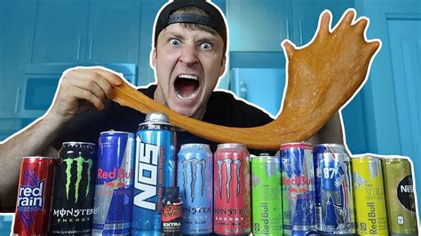 energy drink justdustin edible energy drink slime do not attempt