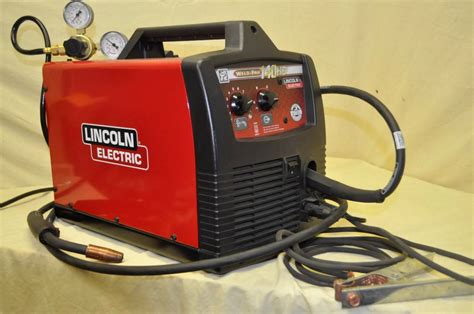 lincoln electric mig pak 140 wire feed welder lincoln electric weld pak 140 hd wire feed mig welder ebay