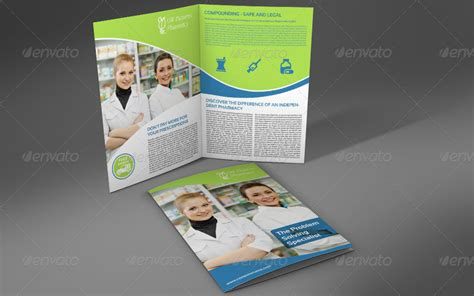 Pharmacy Brochure Template Free by Pharmacy Brochure Bi Fold Template By Owpictures