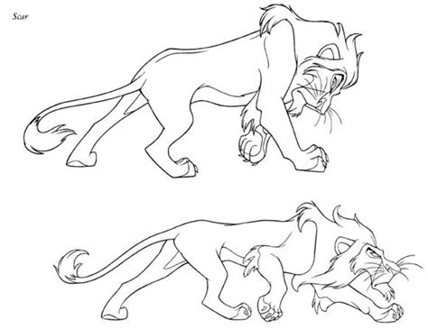 lion king coloring pages scar scar coloring book