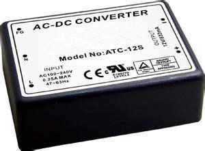 inductorless ac dc converter atc 12s 10w 12v 833ma encapsulated ac dc converter
