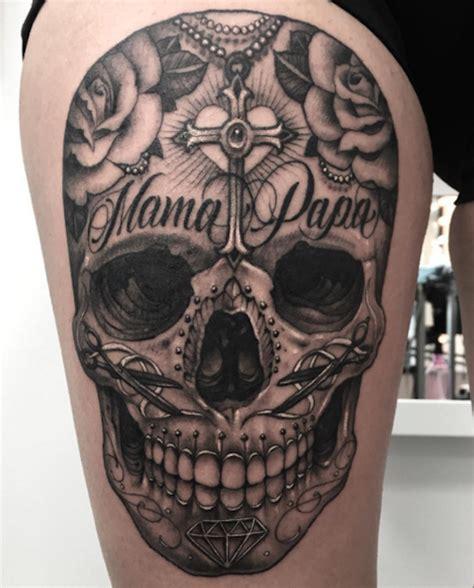 papa tattoo designs skull papa skull tattoos