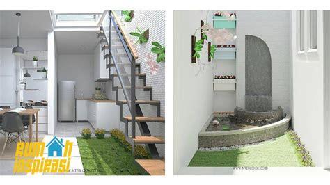 gambar interior taman  rumah minimalis informasi desain  tipe rumah