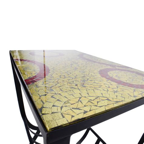 pier one mosaic table 54 pier 1 mosaic magazine accent table tables