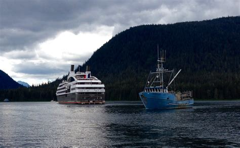 alaska fishing boat the destination french company courts petersburg as a cruise destination