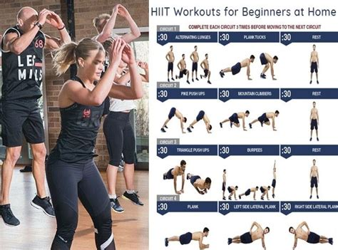 hiit workouts for beginners at home