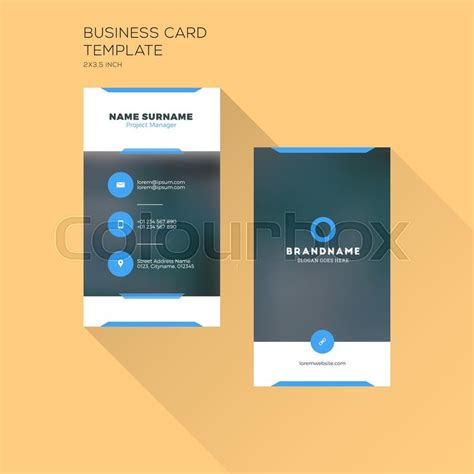vertical appointment template for business card vertical business card print template personal business