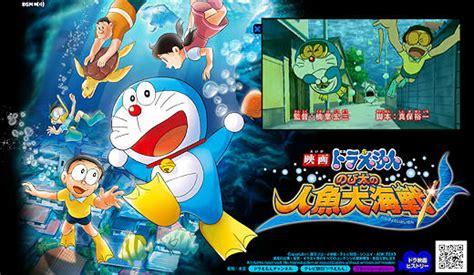 doraemon movie underwater doraemon 2010 movie nobita s great ocean battle of the
