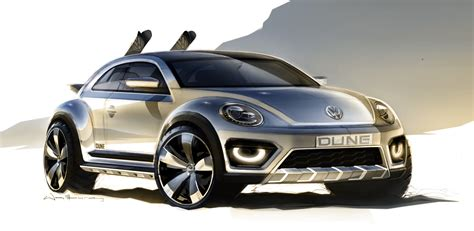 future volkswagen volkswagen s beetle dune concept previews future bug