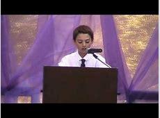 Brent Hyman 6th Grade Graduation Speech - YouTube Graduation Speeches