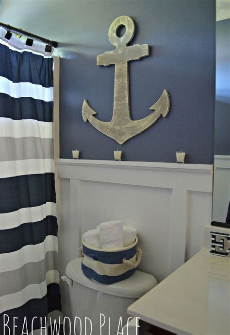 nautical bathroom decor hometalk