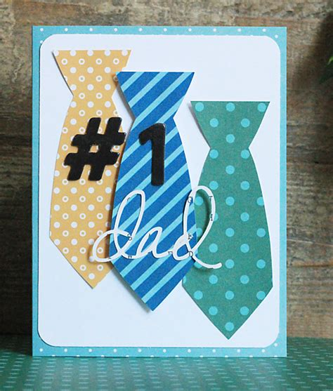 Handmade Fathers Day Cards - handmade s day cards pebbles inc