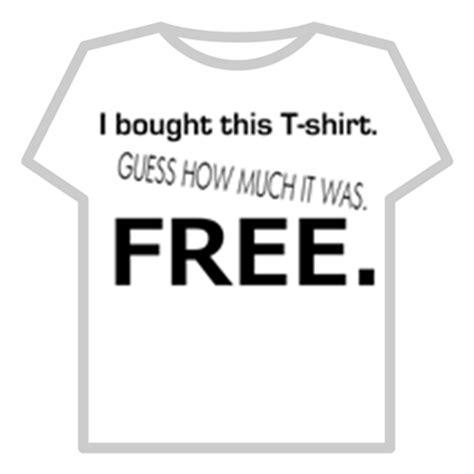 T Shirt Bc Clothing free t shirt roblox