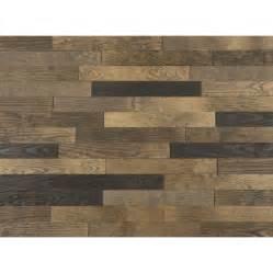 stick on wood wall timberwall peel and stick wood wall planks desert mix 11 3 sq ft per box what s it worth