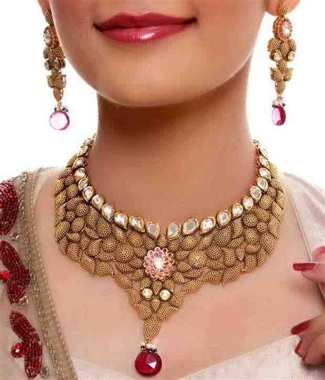tattoo jewellery online kundan necklace kundan jewellery set bridal necklace