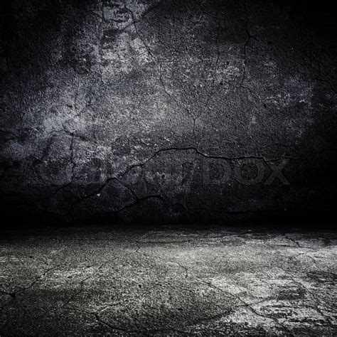 Old Grunge Scary Room With Concrete Texture Stock Photo Colourbox Creepy Powerpoint Backgrounds