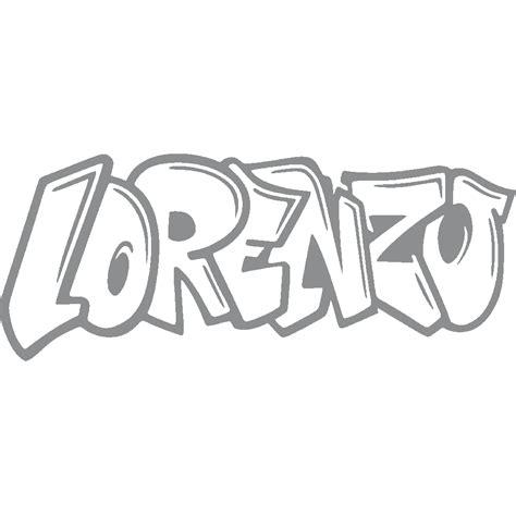 stickers lorenzo graffiti art stick