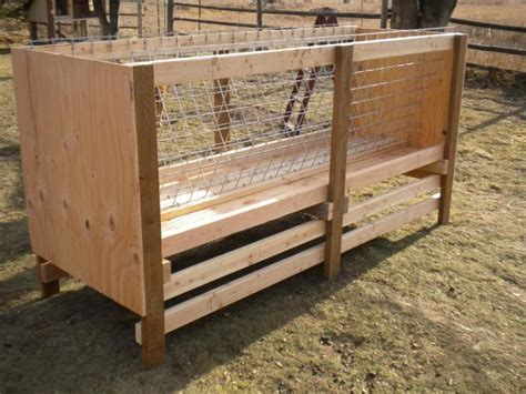 hay racks for goats hay rack designed specifically for goats goat nation pinterest