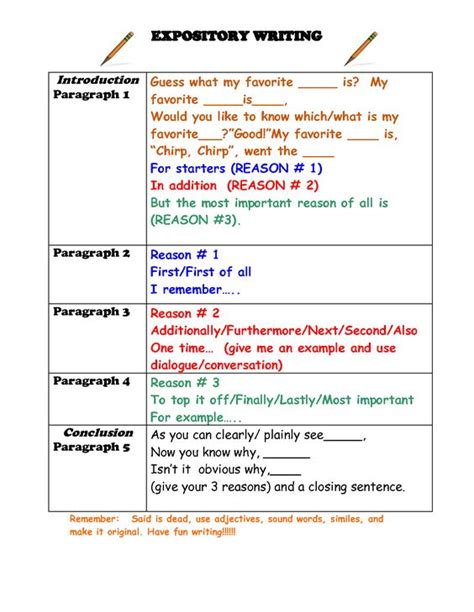 Graphic Essay by Free Expository Writing Graphic Organizer Expository Writing Graphic Organizer Expository