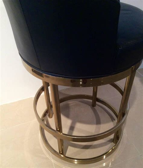kitchen island with 4 stools brass swivel counter bar stools vintage set 4 kitchen island at 1stdibs