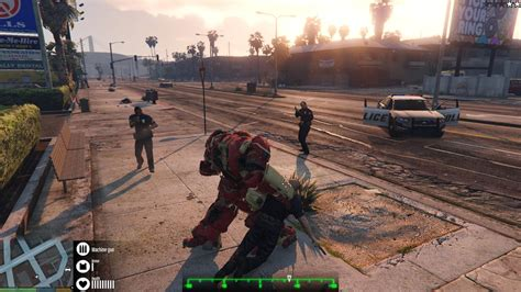 gta 5 ironman mod game free download iron man s hulkbuster armor smashes into gta v