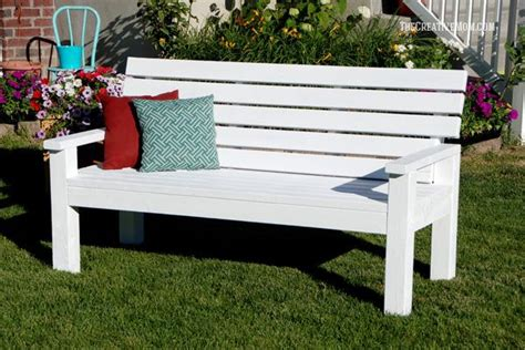 diy sturdy garden bench  building plans outdoor