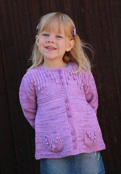 Simple Cardi cardigans for children knitting patterns patterns the