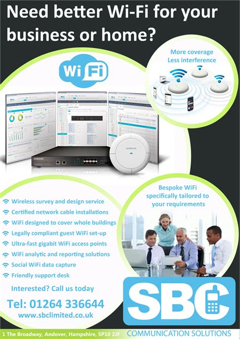 Need Wifi need better wifi for your home or business we the