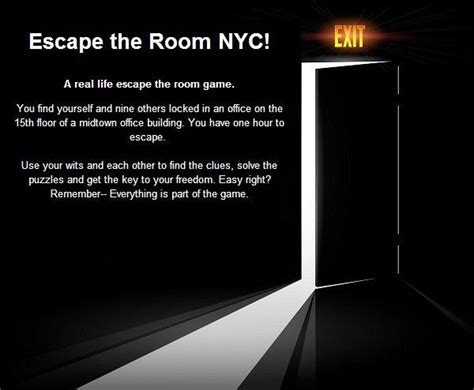 escape the room new york escape the room nyc travel new york city