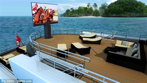 largest boat makers in the world porsche unveils world s largest tv that boasts a 201inch