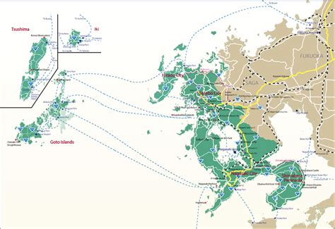 nagasaki map getting around discover nagasaki visit nagasaki the