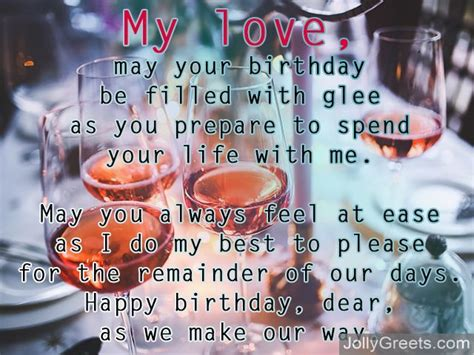 fiance poems birthday poems for fiance