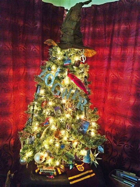 52 best images about harry potter christmas trees on