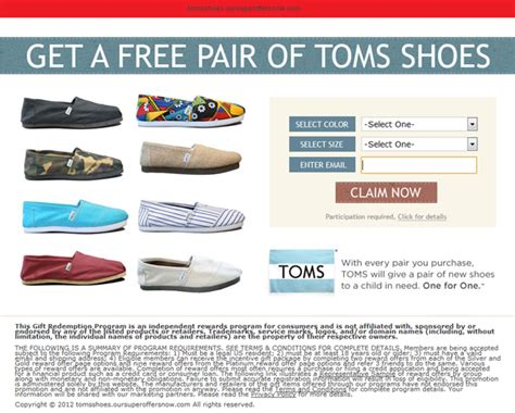 Toms Gift Card - auexa5fn authentic toms shoes gift card