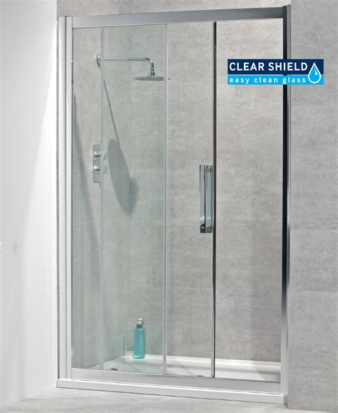 760 Shower Door Avante 8mm 1400 X 760 Sliding Shower Door