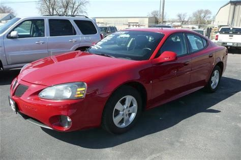 pontiac grand dam 2008 pontiac grand prix base sedan in sioux city