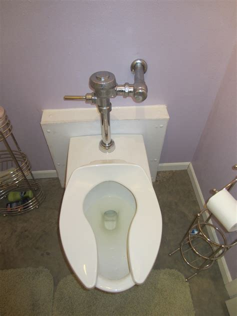 diy a commercial toilet work with residential
