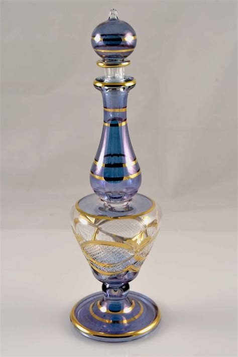 Handmade Perfume - handmade perfume bottle blue