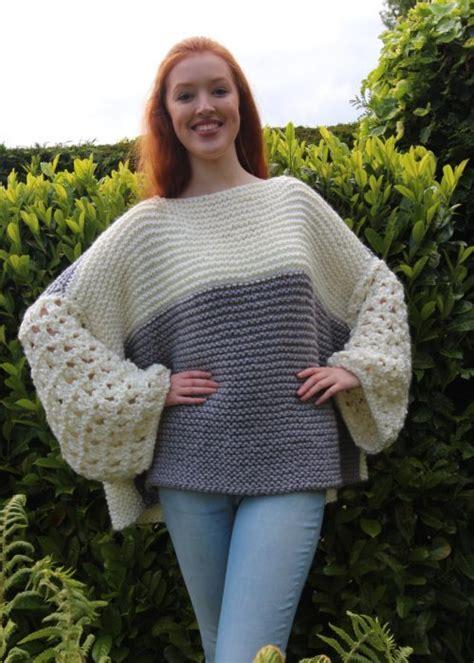 lace jumper knitting pattern lace sweater knitting pattern modern
