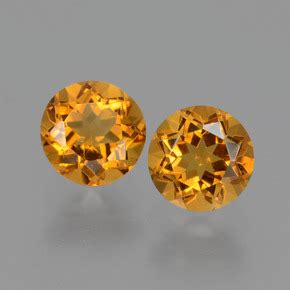 Yellow Citrine 1 95ct 1 carat yellow golden citrine gems from brazil and