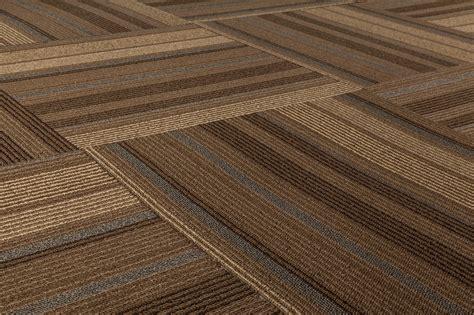 Rug Floor Tiles by Dante Carpet Tile Lark Collection Brown Beige Blue