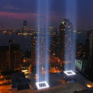 Lighting Ny World Trade Center Light Memorial Local Flavor New