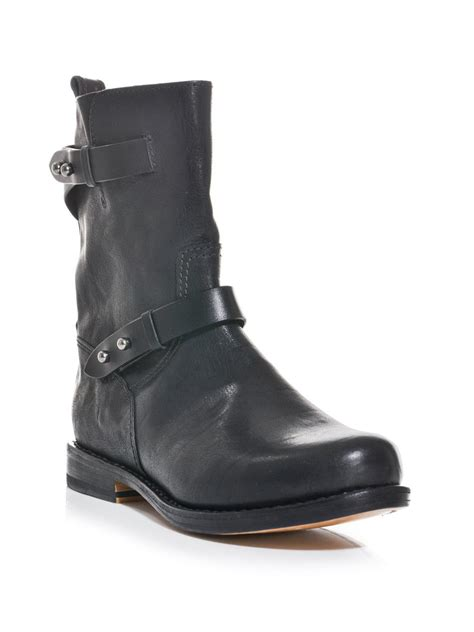 moto shoes rag bone moto classic boots in black lyst