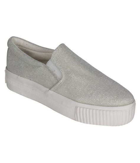 greentree silver casual shoes price in india buy