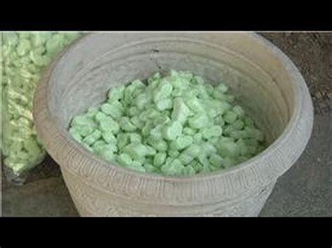 Can You Use Styrofoam In Planters by Using Soil How To Plant In Large Containers Using Less