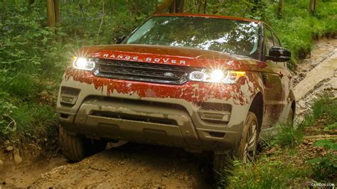range rover sport chile red  supercharged