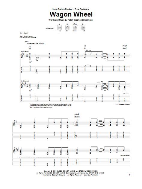 Guitar Tutorial Wagon Wheel | wagon wheel by darius rucker guitar tab guitar instructor
