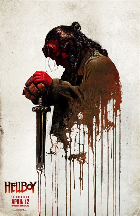 hellboy posters clip tease  arrival   demon